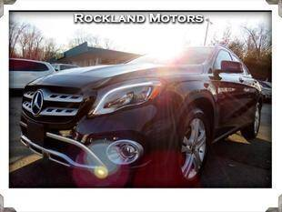 2018 Mercedes-Benz GLA for sale at Rockland Automall - Rockland Motors in West Nyack NY