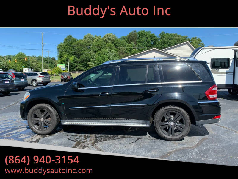 2011 Mercedes-Benz GL-Class for sale at Buddy's Auto Inc in Pendleton SC