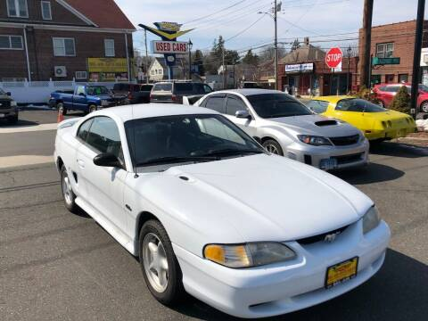 1995 Ford Mustang for sale at Bel Air Auto Sales in Milford CT