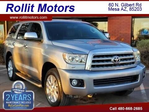 2011 Toyota Sequoia for sale at Rollit Motors in Mesa AZ