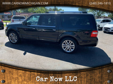 2015 Ford Expedition EL for sale at Car Now LLC in Madison Heights MI