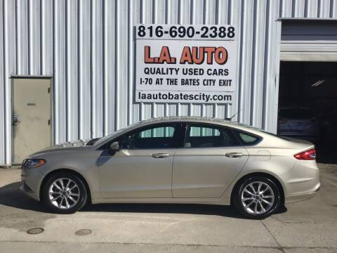 2017 Ford Fusion for sale at LA AUTO in Bates City MO