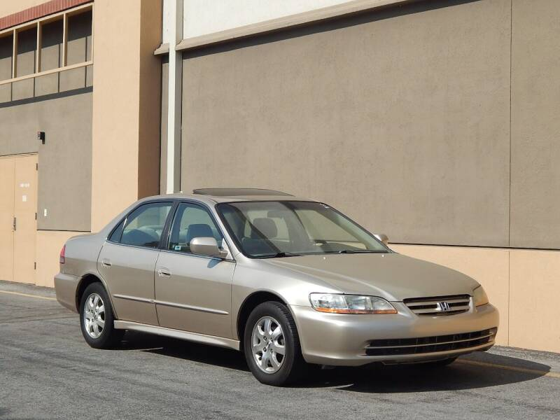 2002 Honda Accord for sale at Gilroy Motorsports in Gilroy CA