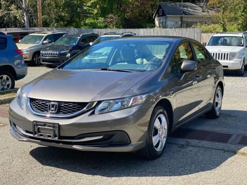 2013 Honda Civic for sale at AMA Auto Sales LLC in Ringwood NJ