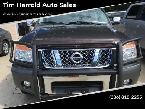 2012 Nissan Titan for sale at Tim Harrold Auto Sales in Wilkesboro NC