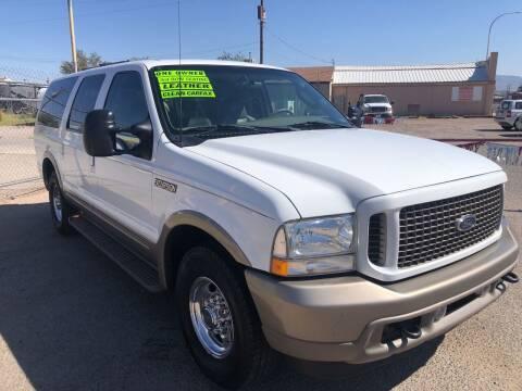 2003 Ford Excursion for sale at Senor Coche Auto Sales in Las Cruces NM