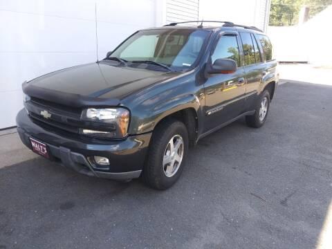 2004 Chevrolet TrailBlazer for sale at Walts Auto Sales in Southwick MA