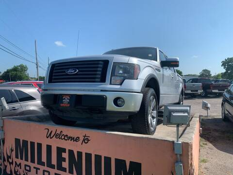 2012 Ford F-150 for sale at MILLENIUM MOTOR SALES, INC. in Rosenberg TX