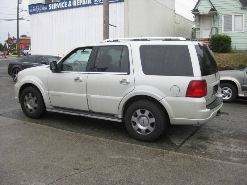 2006 Lincoln Navigator for sale at UNIVERSITY MOTORSPORTS in Seattle WA