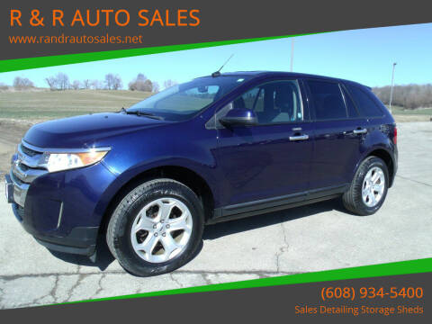 2011 Ford Edge for sale at R & R AUTO SALES in Juda WI