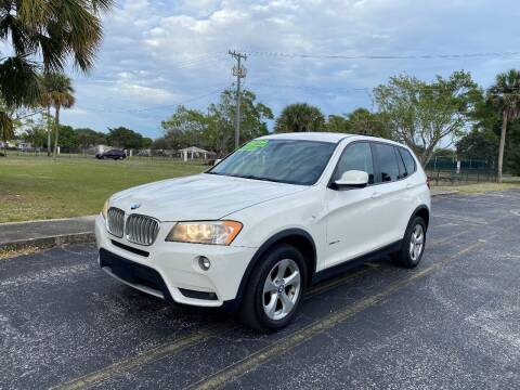 2012 BMW X3 for sale at Lamberti Auto Collection in Plantation FL