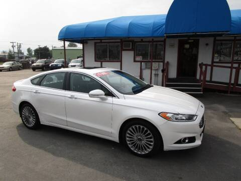 2013 Ford Fusion for sale at Jim's Cars by Priced-Rite Auto Sales in Missoula MT
