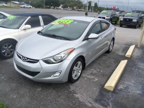 2013 Hyundai Elantra for sale at ORANGE PARK AUTO in Jacksonville FL