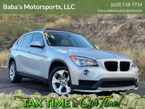 2015 BMW X1 for sale at Baba's Motorsports, LLC in Phoenix AZ