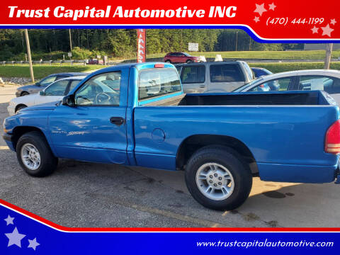 2001 Dodge Dakota for sale at Trust Capital Automotive Inc. in Covington GA