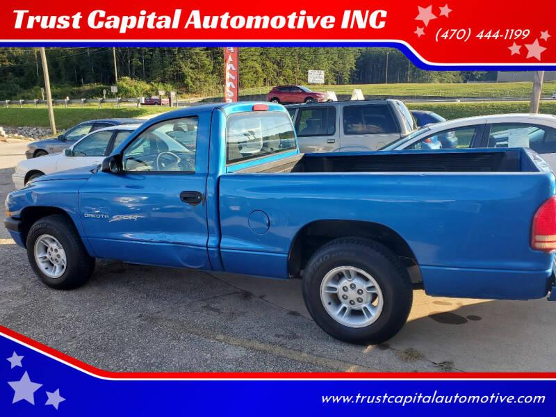 2001 Dodge Dakota for sale at Trust Capital Automotive Inc. in Covington GA
