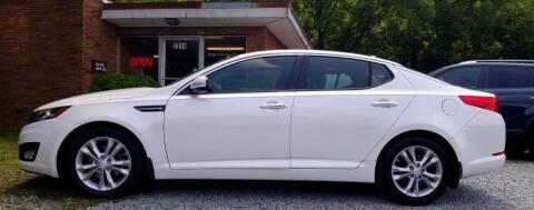 2012 Kia Optima for sale at Progress Auto Sales in Durham NC