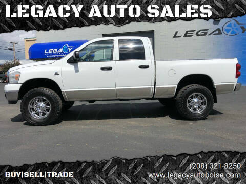 2007 Dodge Ram Pickup 2500 for sale at LEGACY AUTO SALES in Boise ID