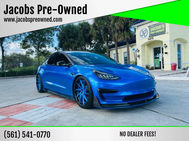 2020 Tesla Model 3 for sale at Jacobs Pre-Owned in Lake Worth FL