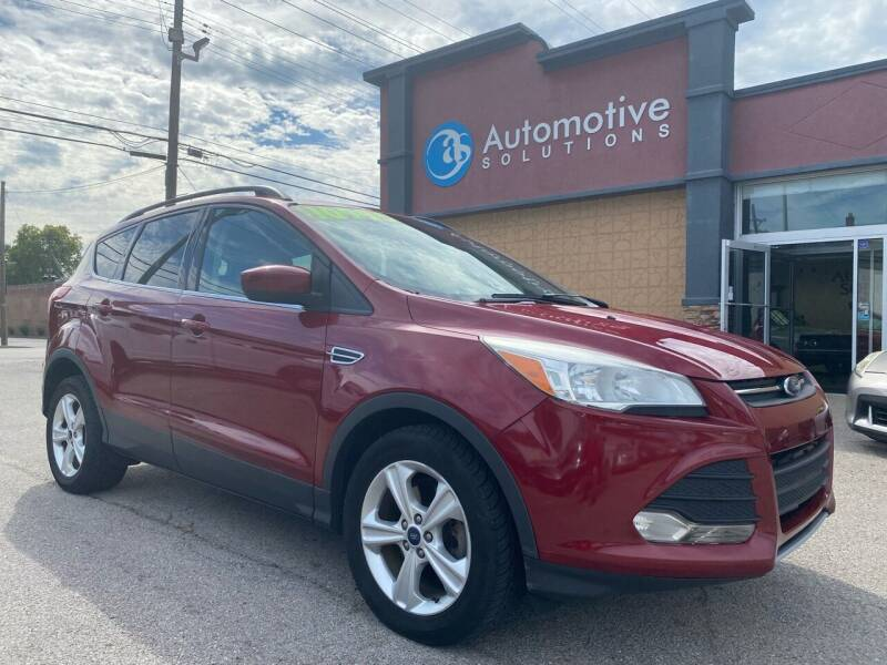 2014 Ford Escape for sale at Automotive Solutions in Louisville KY