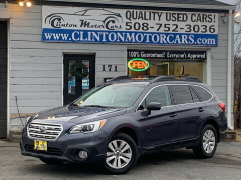 2015 Subaru Outback for sale at Clinton MotorCars in Shrewsbury MA