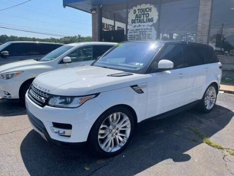 2016 Land Rover Range Rover Sport for sale at TRANS P in East Windsor CT