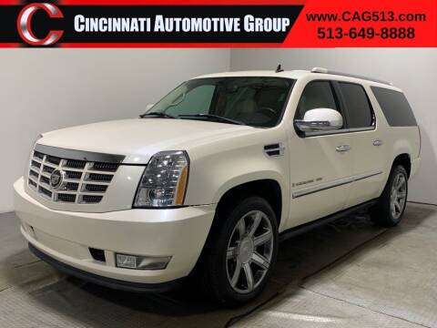 2007 Cadillac Escalade ESV for sale at Cincinnati Automotive Group in Lebanon OH