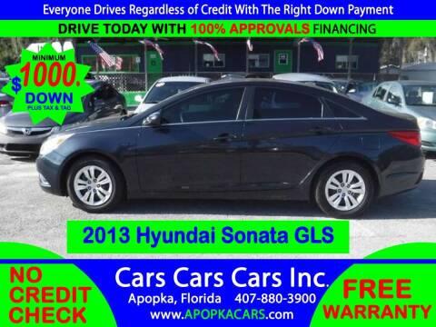 2013 Hyundai Sonata for sale at CARS CARS CARS INC in Apopka FL