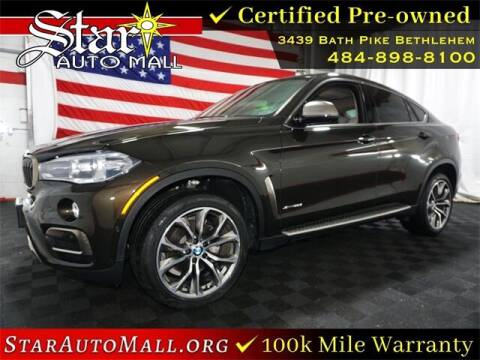 2017 BMW X6 for sale at STAR AUTO MALL 512 in Bethlehem PA
