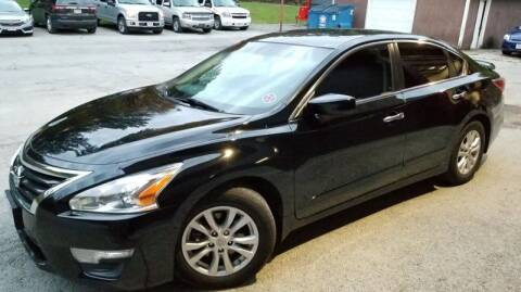 2014 Nissan Altima for sale at Country Auto Sales in Boardman OH