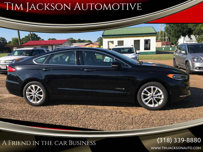 2019 Ford Fusion Hybrid for sale at Tim Jackson Automotive in Jonesville LA