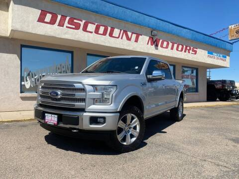 2017 Ford F-150 for sale at Discount Motors in Pueblo CO