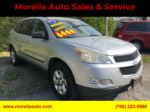 2011 Chevrolet Traverse for sale at Morelia Auto Sales & Service in Maywood IL