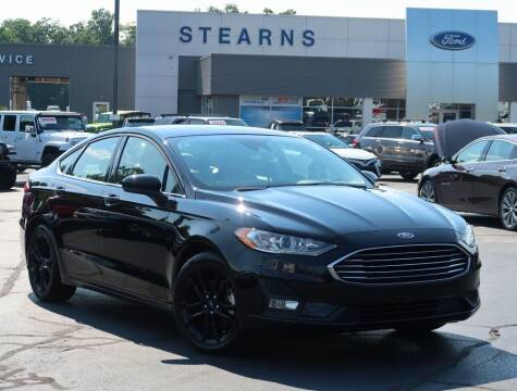 2019 Ford Fusion for sale at Stearns Ford in Burlington NC