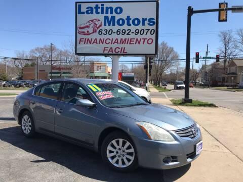 2011 Nissan Altima for sale at Latino Motors in Aurora IL
