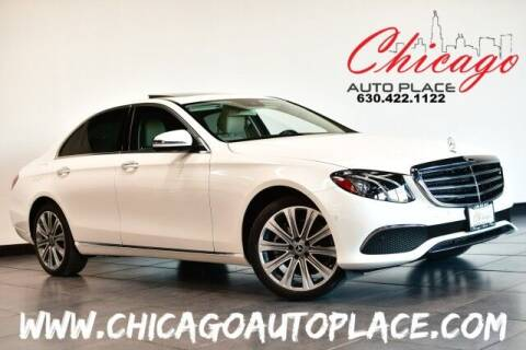 2018 Mercedes-Benz E-Class for sale at Chicago Auto Place in Bensenville IL