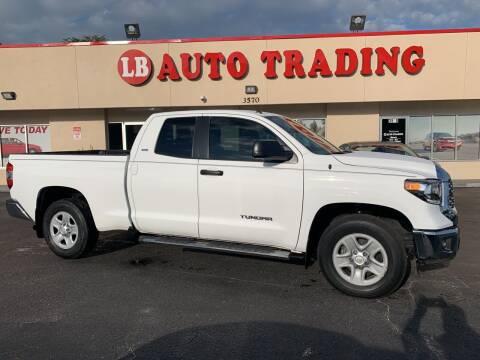 2018 Toyota Tundra for sale at LB Auto Trading in Orlando FL