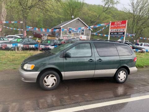 2002 Toyota Sienna for sale at Korz Auto Farm in Kansas City KS