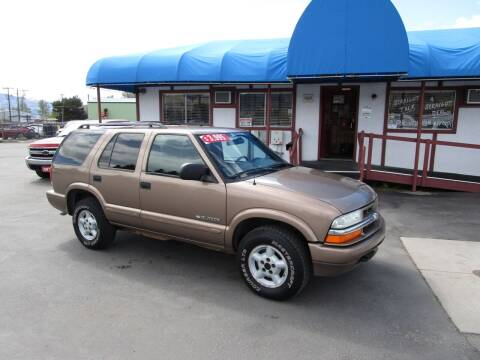 2003 Chevrolet Blazer for sale at Jim's Cars by Priced-Rite Auto Sales in Missoula MT