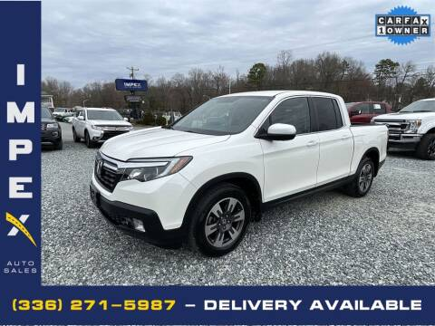 2017 Honda Ridgeline for sale at Impex Auto Sales in Greensboro NC