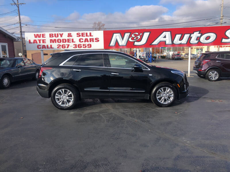 2020 Cadillac XT5 for sale at N & J Auto Sales in Warsaw IN