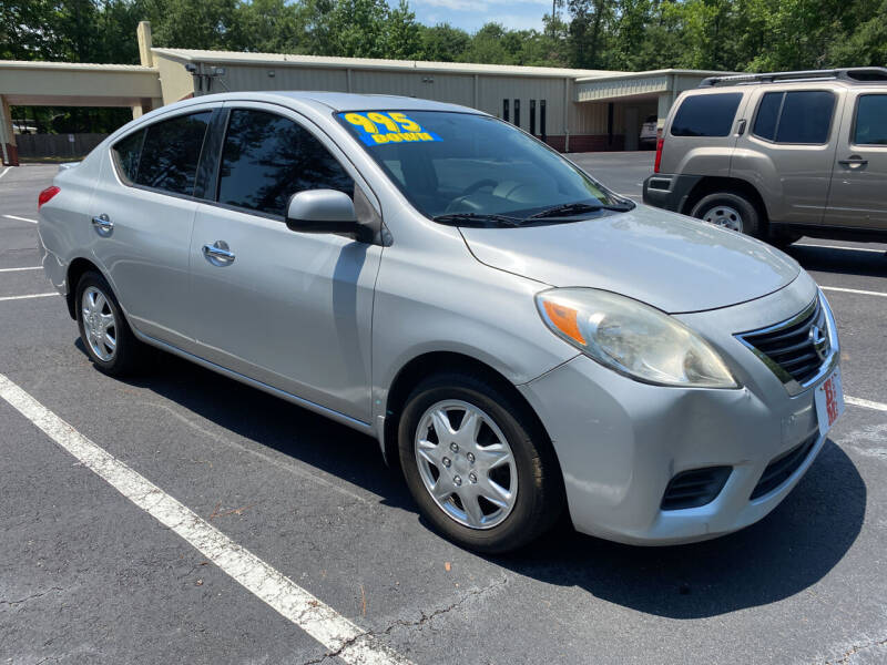 2014 Nissan Versa for sale at B & M Car Co in Conroe TX