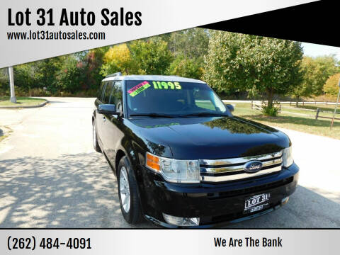 2009 Ford Flex for sale at Lot 31 Auto Sales in Kenosha WI