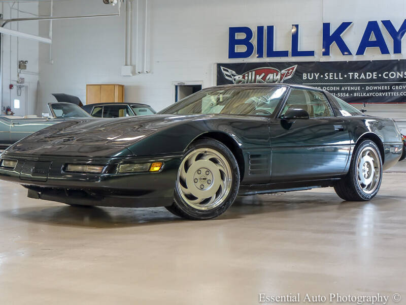 1991 Chevrolet Corvette for sale at Bill Kay Corvette's and Classic's in Downers Grove IL