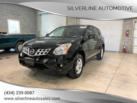 2013 Nissan Rogue for sale at Silverline Automotive in Lynchburg VA