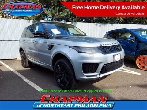 2020 Land Rover Range Rover Sport for sale at CHAPMAN FORD NORTHEAST PHILADELPHIA in Philadelphia PA