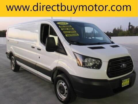 2016 Ford Transit Cargo for sale at Direct Buy Motor in San Jose CA