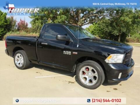 2014 RAM Ram Pickup 1500 for sale at HOPPER MOTORPLEX in Mckinney TX