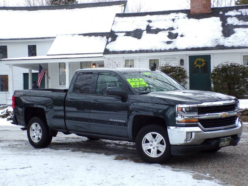2017 Chevrolet Silverado 1500 for sale at The Auto Barn in Berwick ME