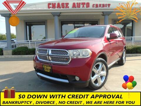 2013 Dodge Durango for sale at Chase Auto Credit in Oklahoma City OK
